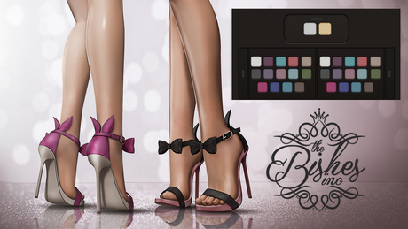 Bishes Inc - Bunny Heels Maitreya Belleza Slink Multi hud Fatpack shoes