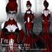 Falln Avaritia Gown Red