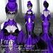 Falln Avaritia Gown Purple