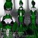 Falln Avaritia Gown Green