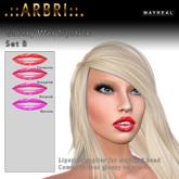 .::Arbri::. Mayreal Glossy Wet Lipstick B