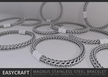 EASYCRAFT - Magnus Stainless Steel Bracelet