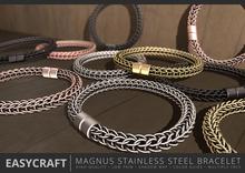 EASYCRAFT - (PRIME) Magnus Stainless Steel Bracelet