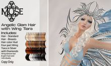 [MUSE] Angelic Glam Hair - Naturals Loaded PKG HUD