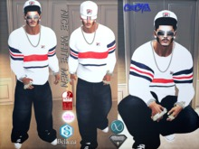 {RC}White Nice Outfit Men