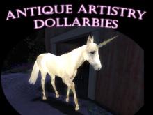 DOLLARBIE Ancient Roaming Magical Unicorn