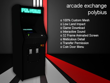 Arcade Exchange - Polybius