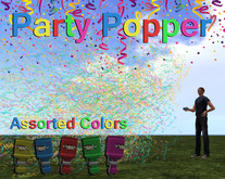 Party Popper / Confetti Cannon - 2018 BEST IN SECOND LIFE