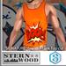 Signature Tank Top - cut - Boom Orange - for Gianni