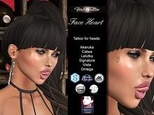Ferd's Tattoo - Face Heart for female Catwa Signature Lelutka Vista Akeruka Omega