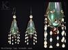 KUNGLERS - Alana earrings - Agate