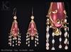 KUNGLERS - Alana earrings - Quartz