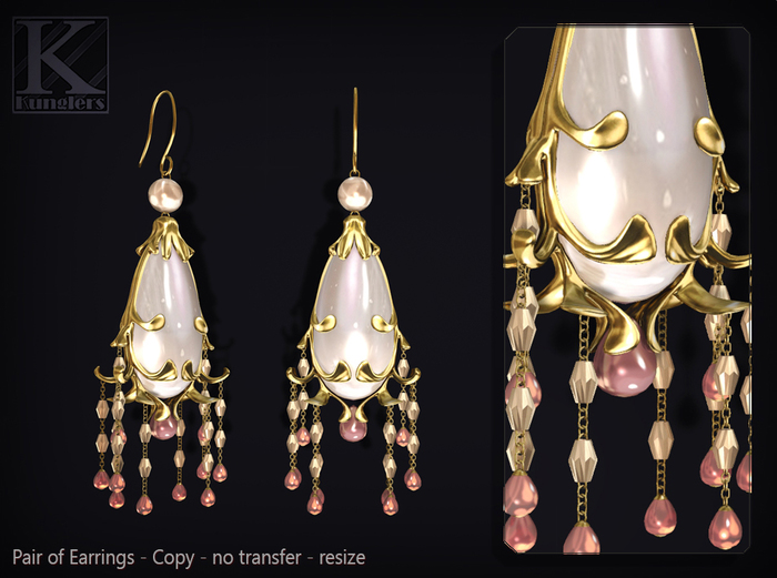 KUNGLERS - Alana earrings - Romance