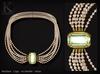 KUNGLERS - Carly necklace - Peridot