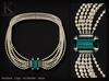 KUNGLERS - Carly necklace - Turmaline