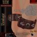 KDC Vermilion elbow cuffs
