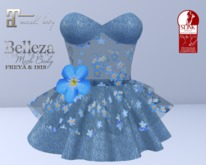 ~PP~  Forget Me Not Spring Dress