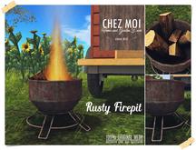 Rusty Firepit ♥ CHEZ MOI