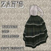Zan's tiered crinoline outfit V2 (7 colors)