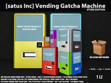 [satus Inc] Vending Gatcha Machine - Event Edition