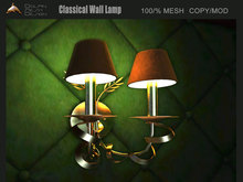 [Dolphin Design] Classical Wall Lamp 1 prims
