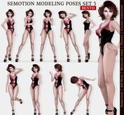 SEmotion Female Bento Modeling poses Set 5 - 10 static poses