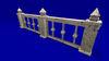 "1 prim full perm ""Marble Fences/Railings"" sculpt maps kit, any texture"