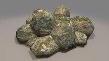 "1 prim full perm ""Rock Stone Pile"" sculpt map, any texture"