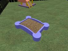 sandbox cat