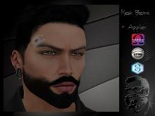 .::CDC Beard Mesh 03 Goatee Black V2  (ADD-ME) **
