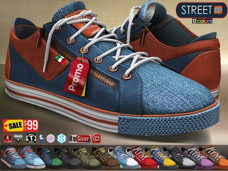 CA PROMO SAVE 75% AESTHETIC SIGNATURE SLINK TMP STREET SNEAKERS