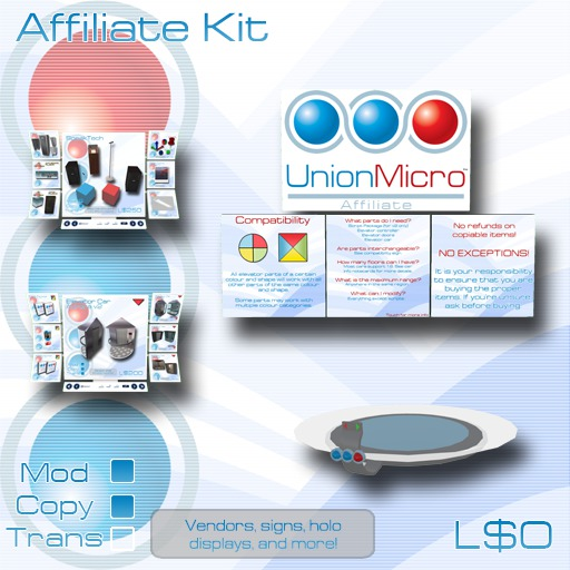 Union Micro Affiliate Kit - Up to 20% commission!