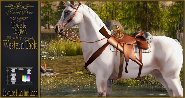 Cheval D'or - Teegle Avatar- Western Tack. 2.0