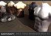 EASYCRAFT - (PRIME) Male Torso Mannequin