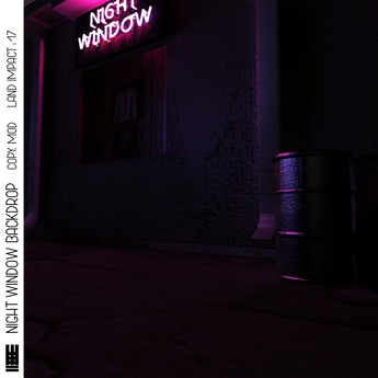 M E R C H- NIGHT WINDOW BACKDROP