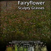 [DDD] Fairyflower Grasses - Resize Friendly, No Alpha Flicker