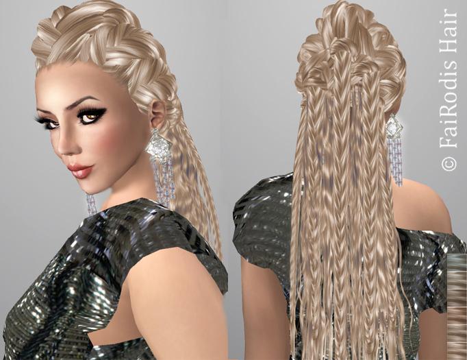 FaiRodis Adelis hair light blonde2 pack