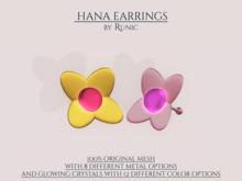 .: Runic :. Hana Earrings