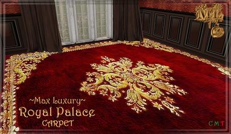 Max Luxury Royal Palace Carpet