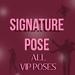 Signature pose   vip