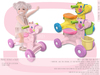 Sweet Baby - Roll-Along Pony Mesh - 2 Colors