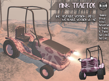 [Since1975] Pink Tractor (Rez /Wear)
