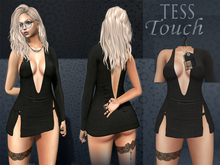 [T.T] TeSs Touch Dress HELLS Black