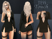 [T.T] TeSs Touch Dress HELLS Brown