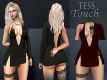 [T.T] TeSs Touch Dress HELLS Red