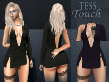 [T.T] TeSs Touch Dress HELLS Violet