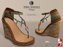 [*K*] Tribal Sandals (Pintupi)