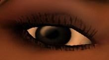 Jet Black Eyes (male & female)