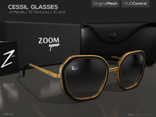 [Z O O M] Cessil Glasses
