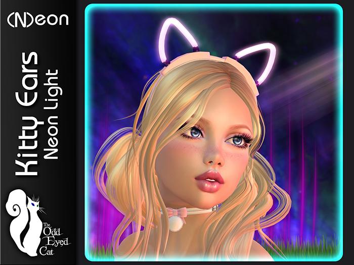 >^OeC^< Neon - Kitty Ears